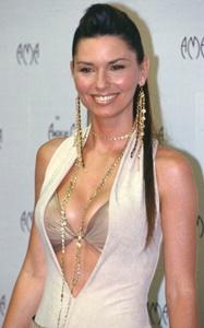 Shania twain bare breasts